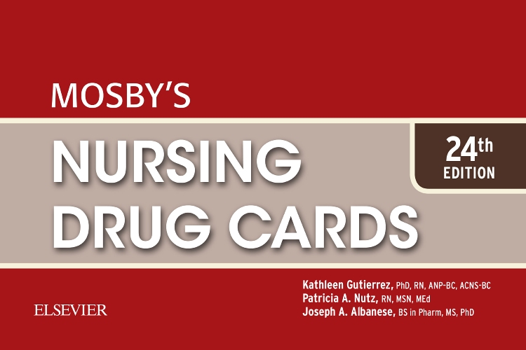 Mosby's Nursing Drug Cards