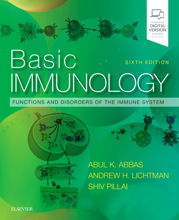 Basic Immunology - Edition 6 - By Abul K  Abbas, MBBS, Andrew H  H