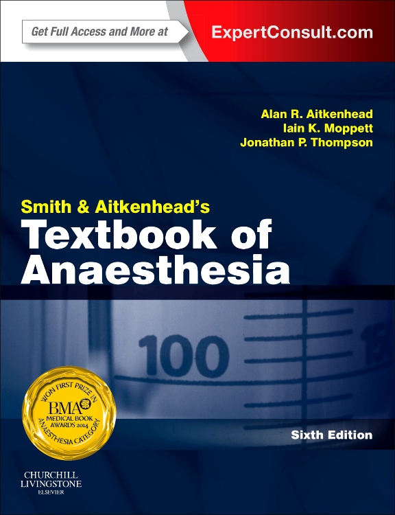 SMITH AND AITKENHEAD´S TEXTBOOK OF ANAESTHESIA,