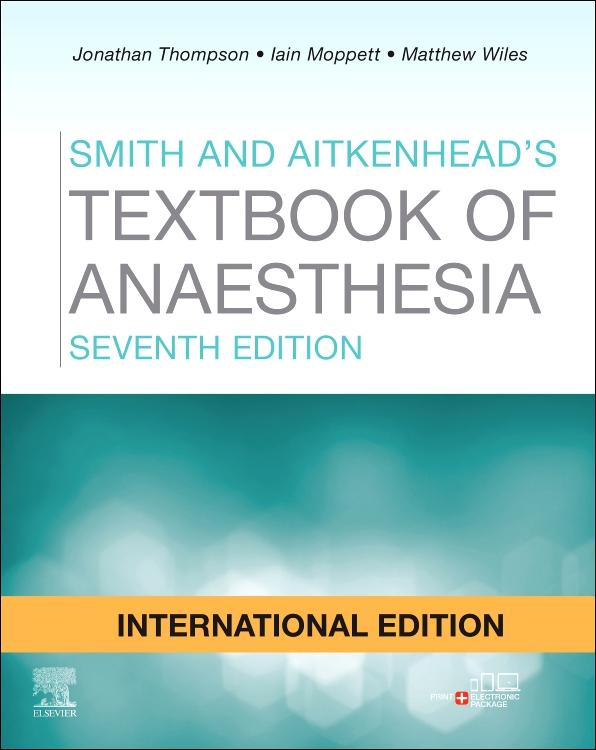 textbook of anesthesia aitkenhead