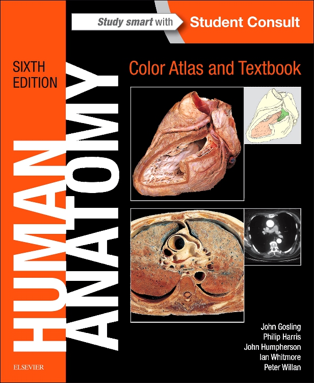 Human Anatomy Color Atlas And Textbook Edition 6 By John A