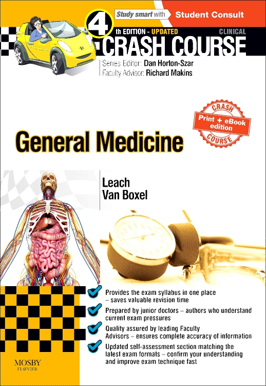 Crash Course General Medicine Updated Print + eBook edition