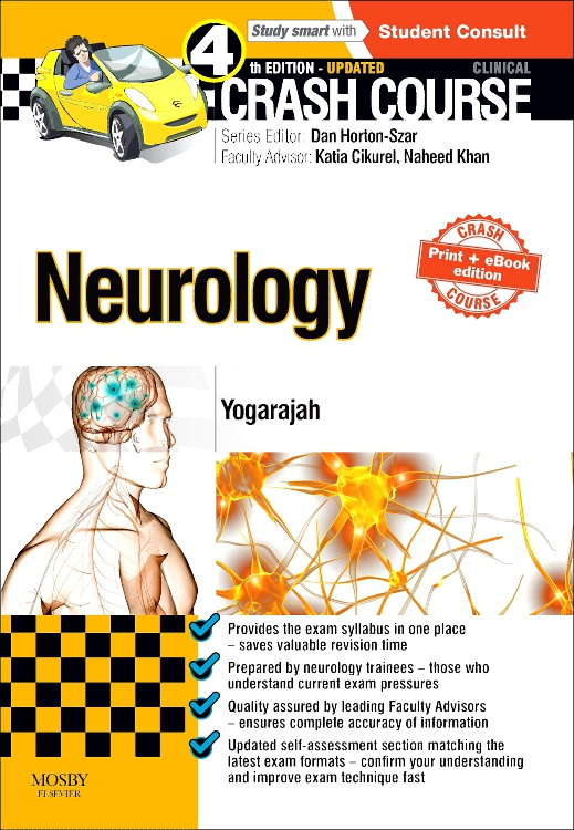 Crash Course Neurology Updated Print + eBook edition