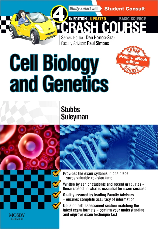 Crash Course Cell Biology and Genetics Updated Print + eBook edition